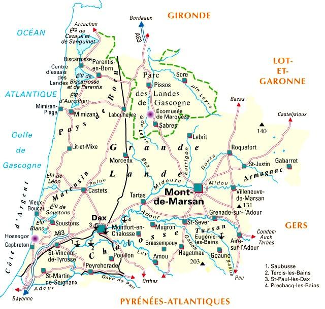 landes-carte