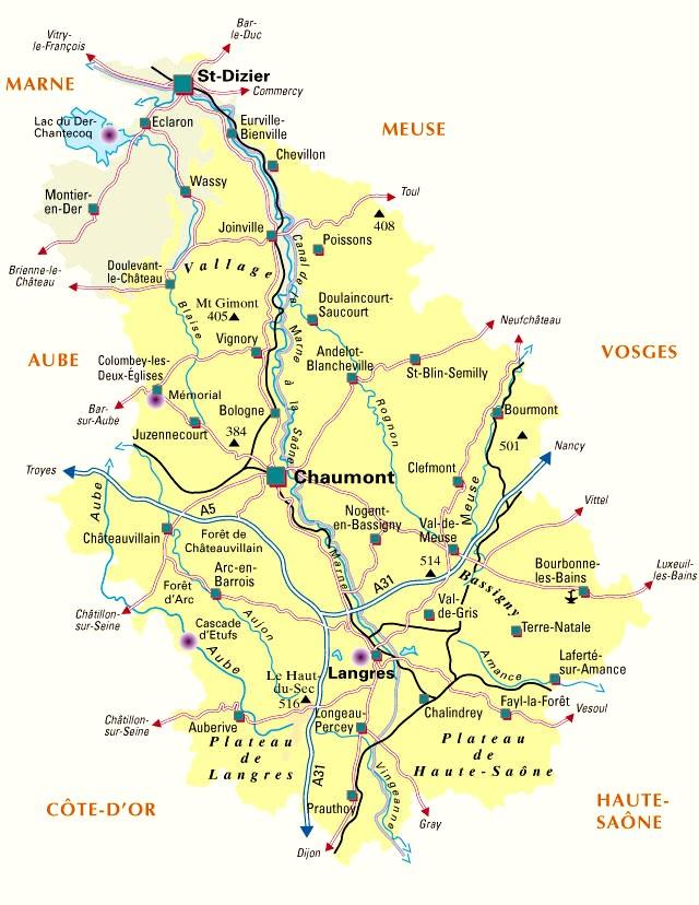 Cartographie Ville De Saint Dizier